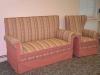 Sofa und mit Sessel