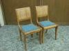 Stühle blau