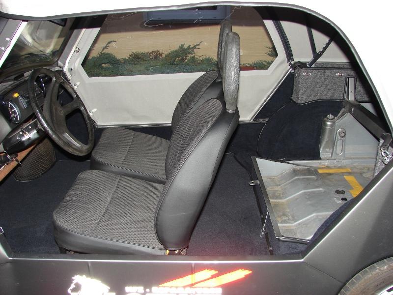 Trabant Kübel Sitze